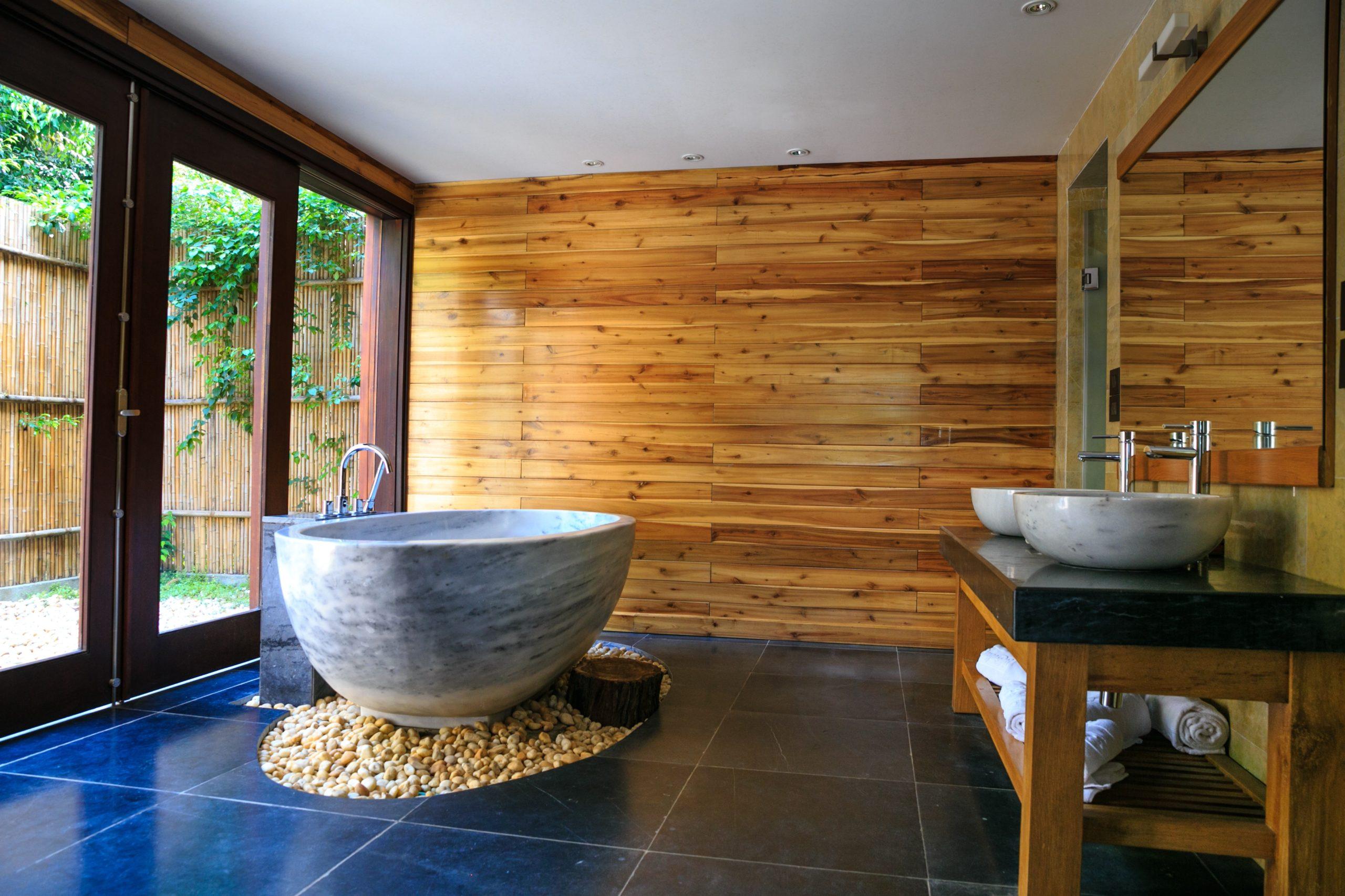 Un bon bain chaud et relaxant